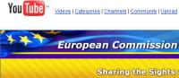 Commission européenne sur YouTube