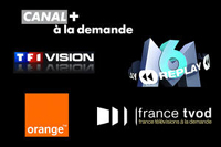 M6 Replay, Orange Rewind TV, TF1 Vision