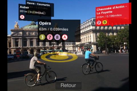 appli iphone avec réalité augmentée