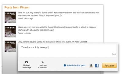 amazon et ses analytics pour les posts