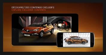 L'application de la Renault Captur