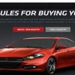 Exemple sur Dodge dart registery