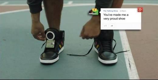 Les Google shoes