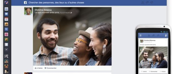 La nouvelle organisation de Facebook