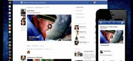 Un nouveau Facebook à la carte et à l'image