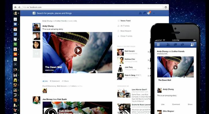 Un nouveau Facebook à la carte et à l'image | Madig - Marketing-digital.fr