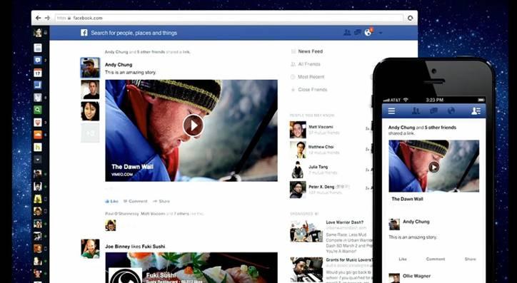 Le nouveau suivi des flux Facebook