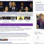 Le redesign de Yahoo en 2013