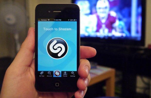 L'application shazam pour la tv