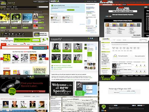 spotify site web