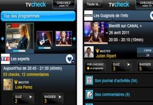 TV check application